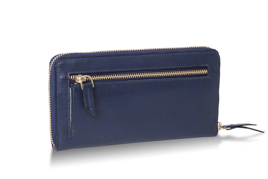 Portfele damskie Samsonite Lady Saffiano II Niebieski Midnight Blue