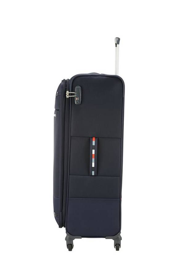 Walizki duże > 70 cm Samsonite Base Boost Niebieski Navy Blue Stripes (boost)