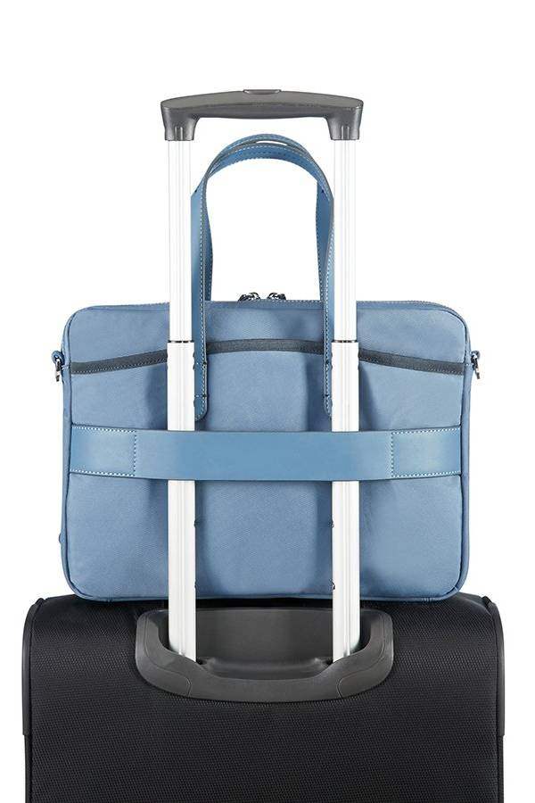 Torby na laptopa Samsonite Nefti Niebieski Moonlight Blue / Dark Navy