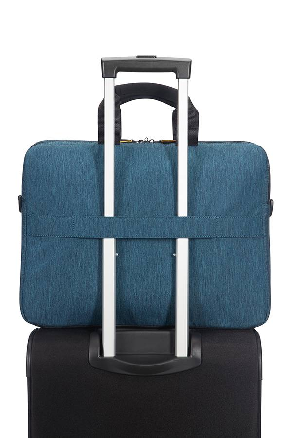 Torby na laptopa American Tourister City Drift Czarny Black/Blue