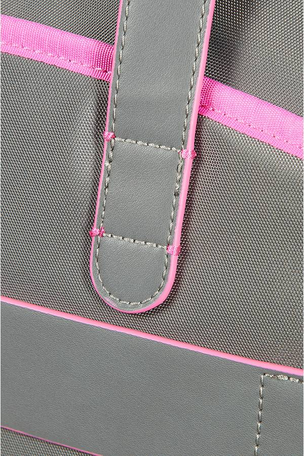 Torby na laptopa Samsonite Nefti Szary Rock Grey / Fuchsia